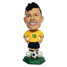 2016 Messi Funny PVC Custom football player bobble heads