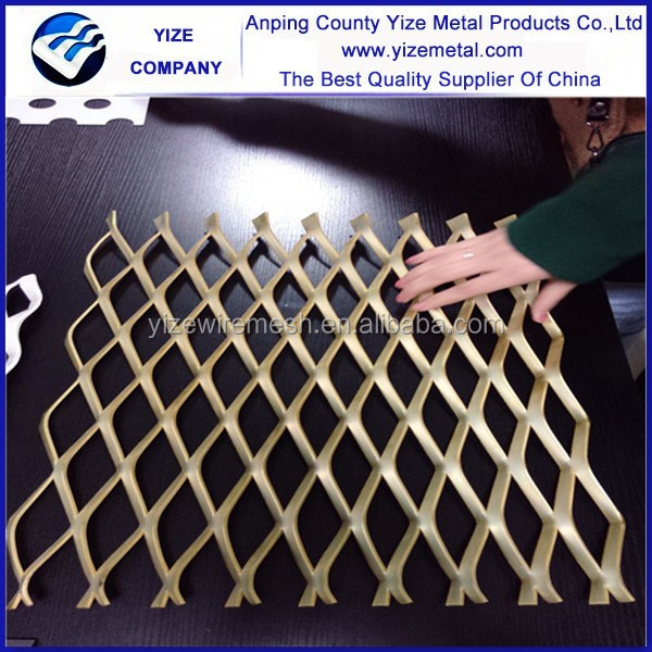alibaba china market hot-dipped galvanized gothic metal/Mild steel stainless steel expanded metal mesh