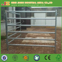 hot dipped galvanbized cattle panel fence/metal livestock farm fence/horse fence