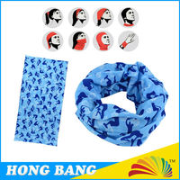 Polyester Microfiber Tube Seamless Fishing Neck Scarf
