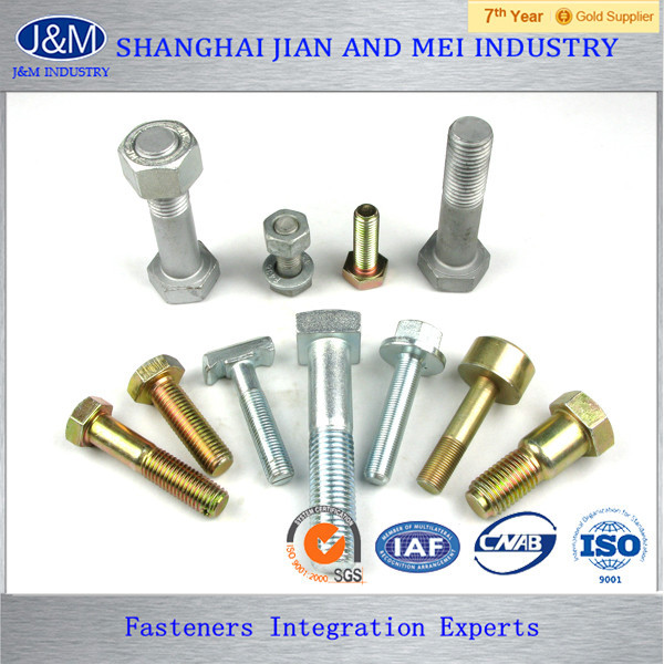 nickel alloy reduced shank bolt