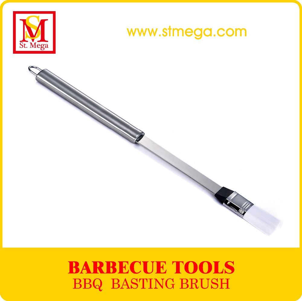 16.5-Inch Stainless steel BBQ basting brush