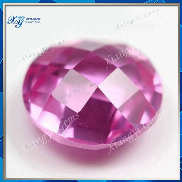 7mm beautiful top quality Alibaba sale round double faceted turtle cut 3# corundum ruby stone prices