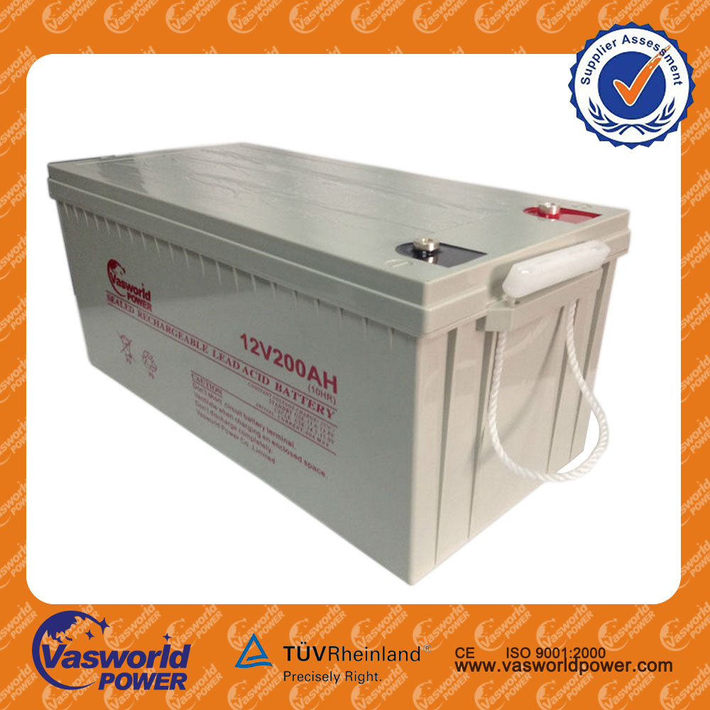 Wholesale price of storage bettery 12v 120ah AGM lead acid battery