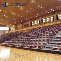 China Wholesale Retractable Plastic Seating For