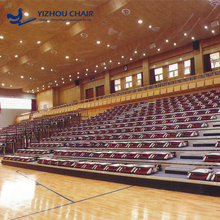 China wholesale retractable plastic seating for grandstand