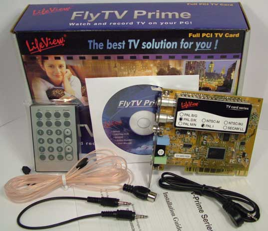 Lifeview Prime 30 TV Tuner Card