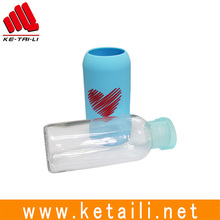 Wholesale Custom Oem Silicone Bottle Sleeve Non-Stick Special Design Silicone Sleeves 600ML bottles