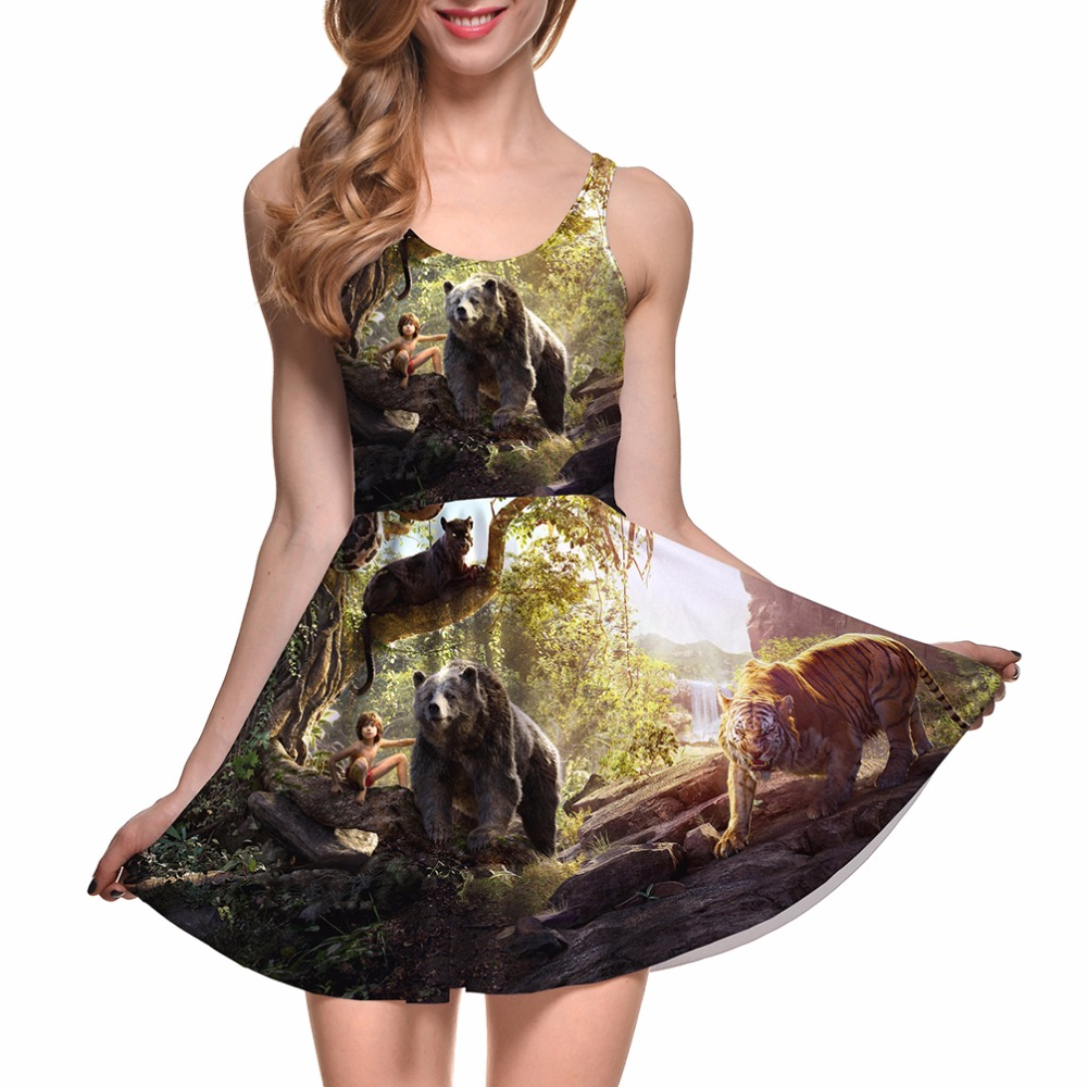 Polyester Spandex Wholesale New Custom Made Digital Printed chinese dress alibaba fashion dress ladies modern dress