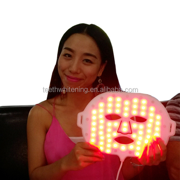 Anti aging LED facial mask