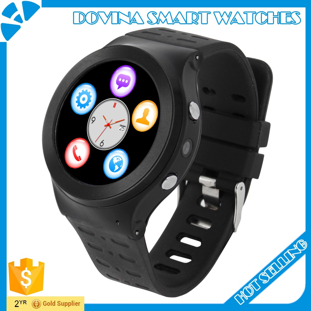 2016 Newest Arrival Bluetooth Smart Watch D99 Android phone With Heart rate SIM WIFI Camera GPRS For IOS