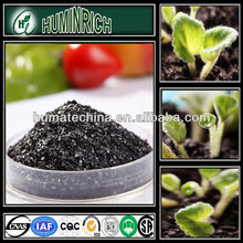 HuminRich 100% Fast Soluble Humate Shiny Flakes Liquid Plant Growth Promoter Pot. humate