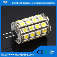 GL-010 360degree 2w RoHS Silicon Mini SMD G4 Led 12v 10w