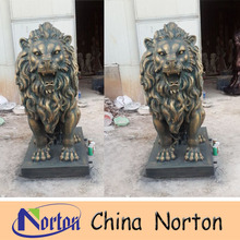 resin sculpture molds making resin lion statue NTRS-CS391R