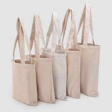 Wholesale High Quality Blank Custom Print 12oz Natural Cotton Canvas Shopping Tote <strong>Bag</strong> with Logo