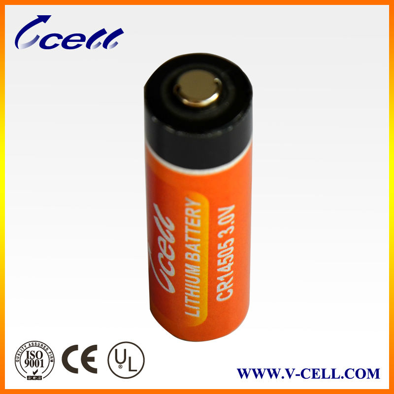3V 1800mAh AA size CR14505SE lithium meters battery
