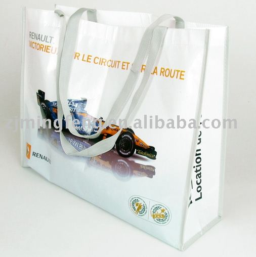 high quality PP woven shopping stock bag