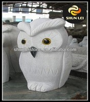 white marble Large size outdoor eagle sculptures