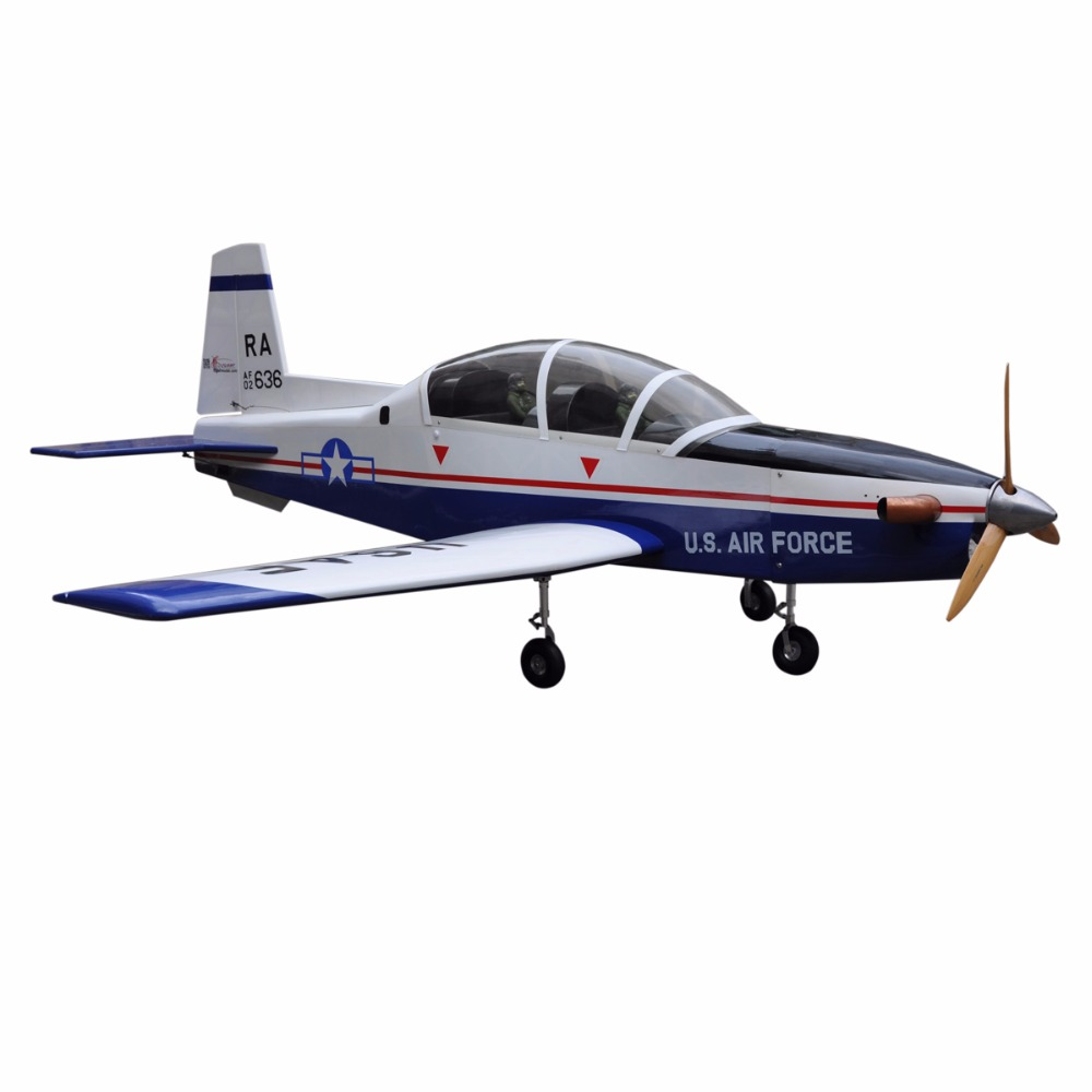 "rc fiberglass fuselage T-6A Texan II 78.7"" aeromodelling giant model airplanes"