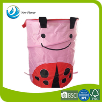 trendy bags for kid folding mesh dirty laundry bags