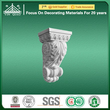 House Interior Decorative Hand Carved Gypsum Building Material Corbel
