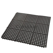 Outdoor Grass rubber mat /Snow Deck Rubber Mat In Black Color