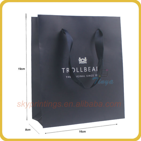Luxury design customized promotional tiny party's paper gift bag