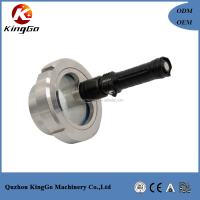 Sanitary Threaded Straight Sight Glass