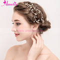 Gold Plated Factory Good Price Sell Hair clip Wedding Bridal Hair Accessories for Wedding