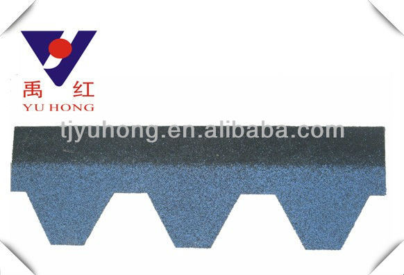 Hexagonal asphalt roofing shingles / roofing tile