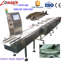 6/8 Grade Best Selling Fish Grader Machine