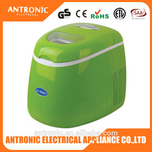 Antronic ATC-IM-01 low price OEM color ABS housing 1.8L 10kgs/24h home use instant ice maker 220v portable ice maker