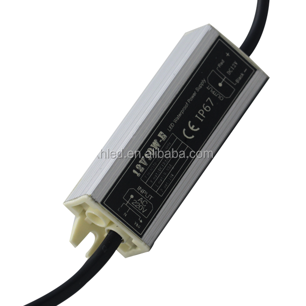 CE Certificated Waterproof 12V 0.83A 10W LED Power Supply
