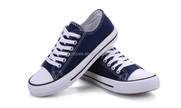 Blue canvas shoes for kids, ladies and man