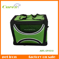 High Quality XXL Size With Strip Outside Iron Pets Carrier Bag Dog House For Animals