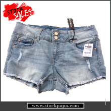 China proveedor womenprice jeans señora con estilo denim shorts
