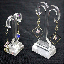 Acrylic jewelry stand display earring jewelry boxes display stand