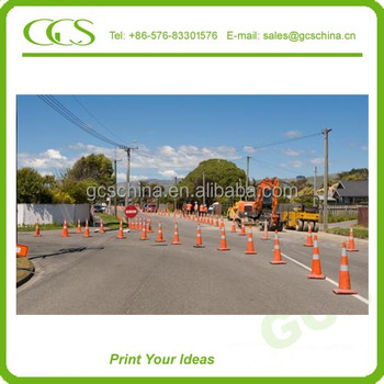 super manufacturer retractable safety cones high quality traffic cone rubber base