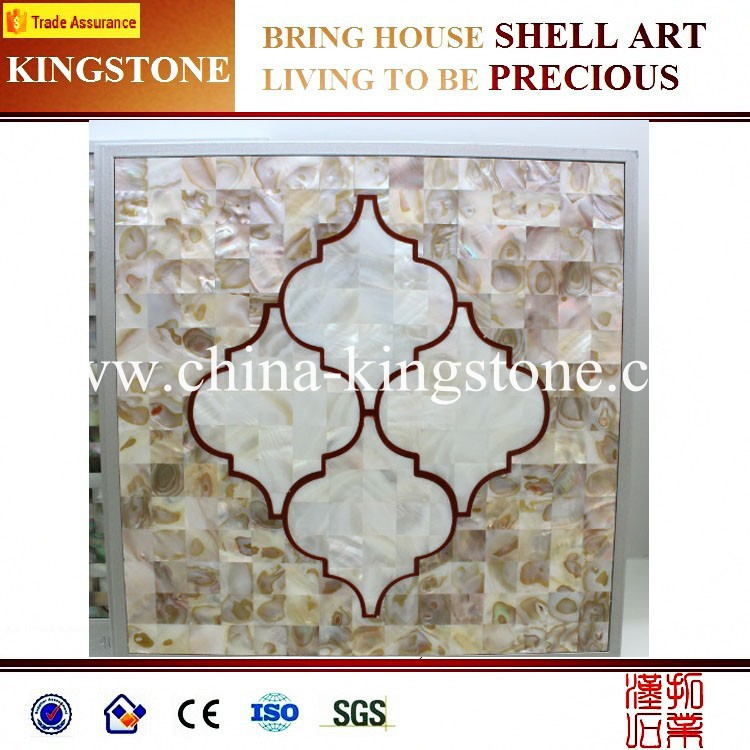 Cheap Chinese seashell mosaic tile for wall buyer price