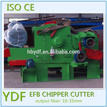 oil palm empty fruit bunch and coconut shell chipper 110KW for biomass power plant
