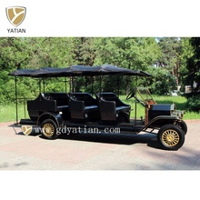 China Classic Vehicle 12 Seater Electric Sightseeing Car For Tourists Transportation