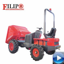 2017 Shandong Weifang factory provide hot sale 4 wheels hydraulic output aoto-unloading certificated by CE EPA buy tractor