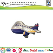 ICTI factory fashion advertising spacecraft display model toys pvc kids inflatable plane toy