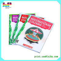 Printing Companies for Hardcover High School Textbook, School Exercises Book Printing
