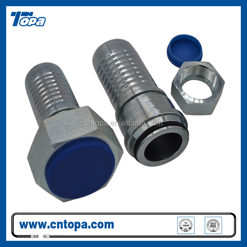 "30mm OD x 1 1/4"" BSPP MALE HYDRAULIC swagelok compression fitting"