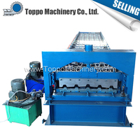 Automatic IBR Cold Roll Color Coated Roof Sheet Forming Machine