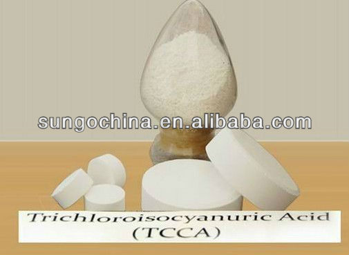 Disinfectant TCCA 90% Chlorine Tablets for Water Treatment