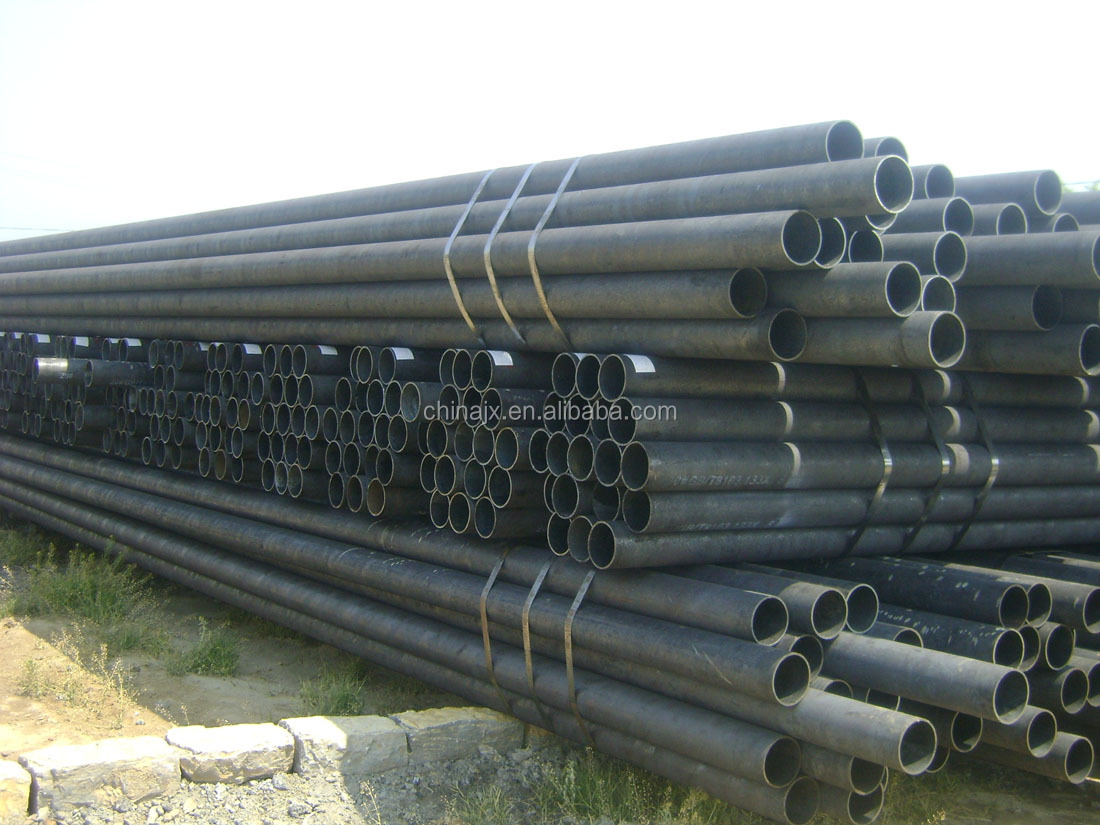 China ASTM A106B/1010/1020/1045/4130 steel seamless pipe for sale