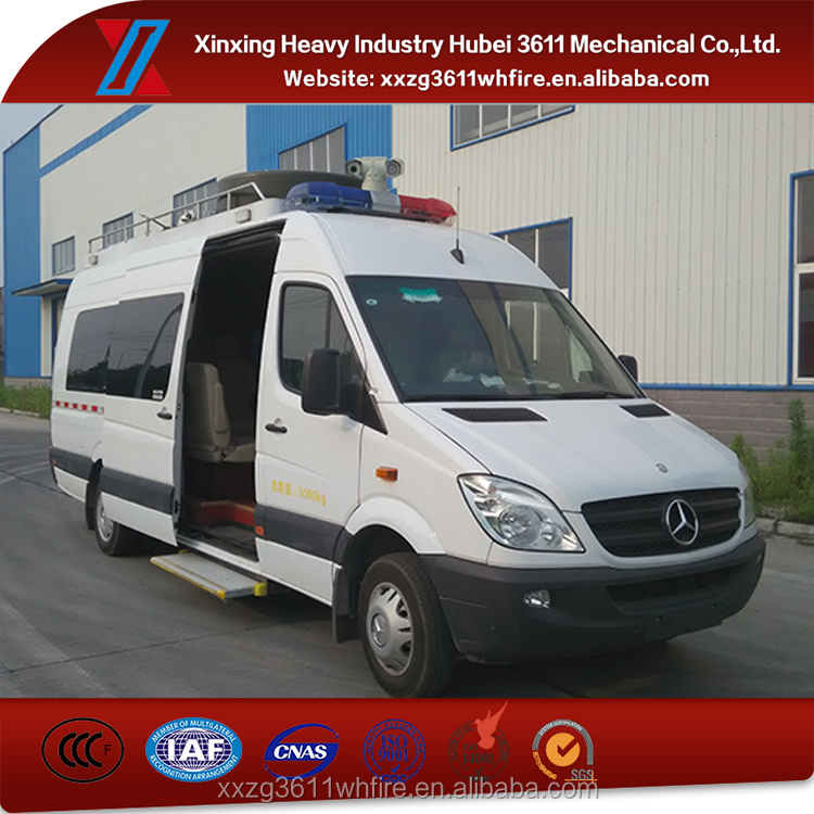China Manufacturer Hot Sale Emergency Rescue Mobile Communication Command Vehicle