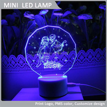 VLL-010 Aquarius mini led light, 2015 Horoscope LED Night Light Lamp, New arrival decorative Light.